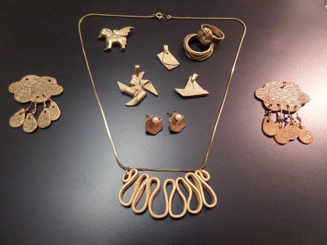 Bronze doré classique et Cuivre UF