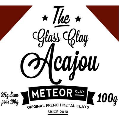 Glass clay Intense - Acajou - 100g
