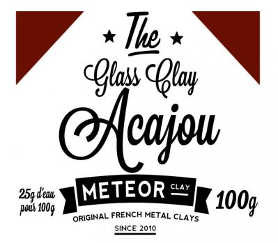 Glass clay Intense - Acajou - 100g