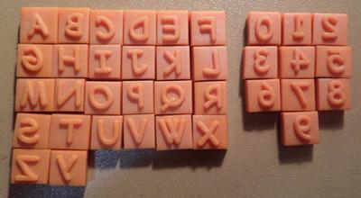 Alphabet et chiffres #47