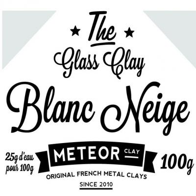 Glass Clay Intense - White Snow - 100g