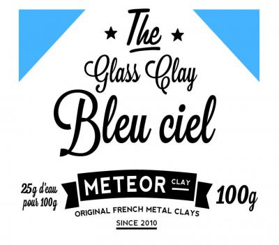 Glass Clay Intense - Blue sky - 100g