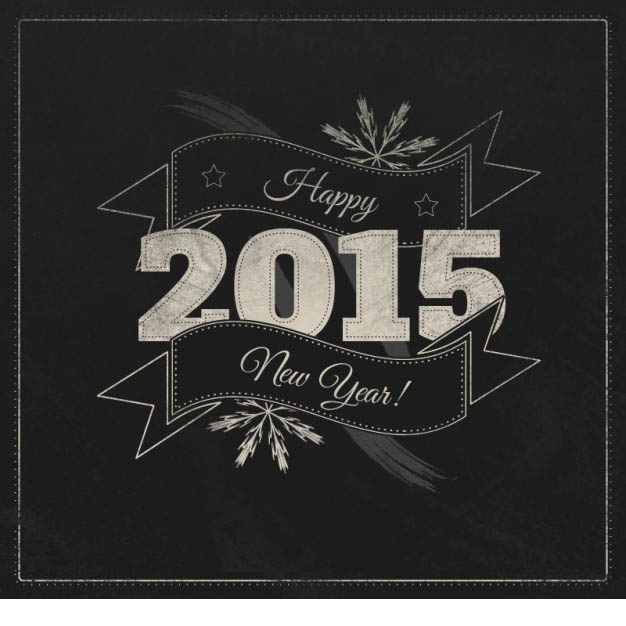 Bonne annee 2015 meteor clay