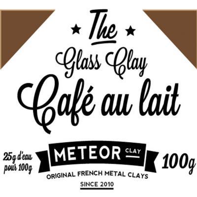 Glass clay Intense - Café au lait - 100g