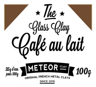 Glass clay Intense - Café au lait - 100g