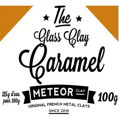 Glass clay Intense - Caramel- 100g