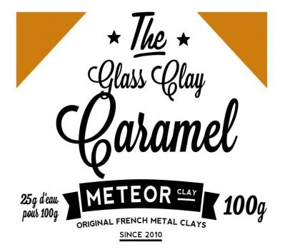 Glass clay Intense - Caramel- 100g