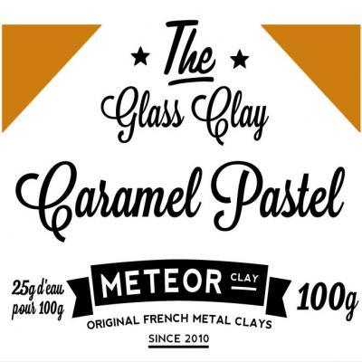 Glass clay Pastel - Caramel - 100g
