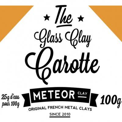 Glass clay Intense - Carotte - 100g
