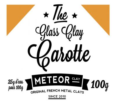 Glass clay Intense - Carotte - 100g