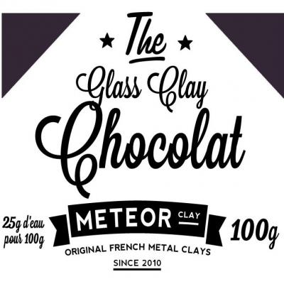 Glass clay Intense - Chocolat - 100g
