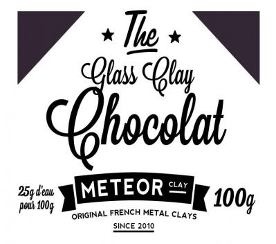 Glass Clay Intense - Chocolate - 100g