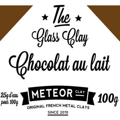 Glass clay Intense - Chocolat au lait - 100g