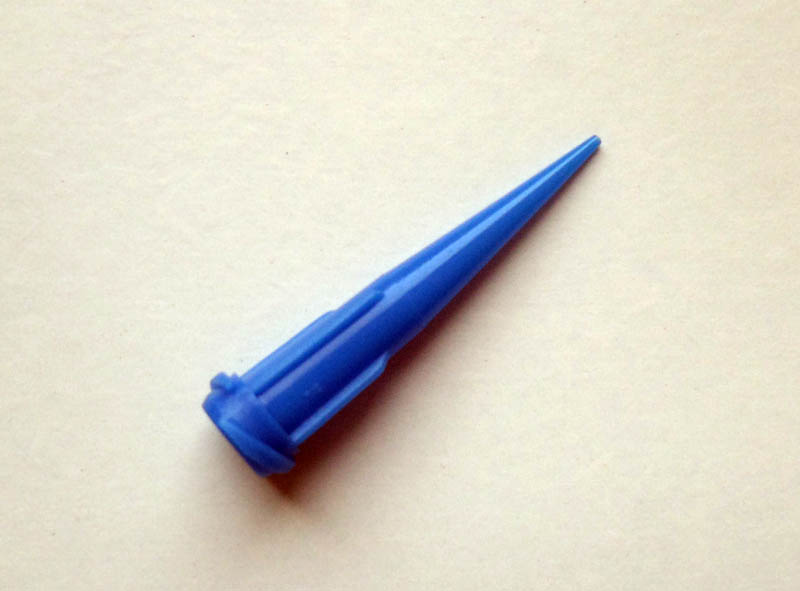 Embout bleu