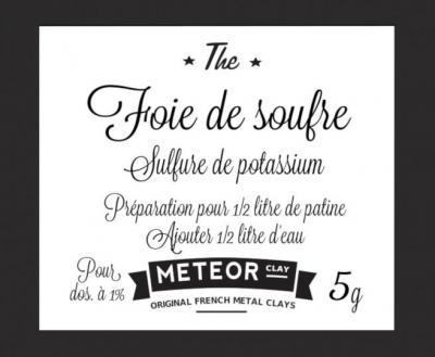 Patine Foie de soufre - 5g