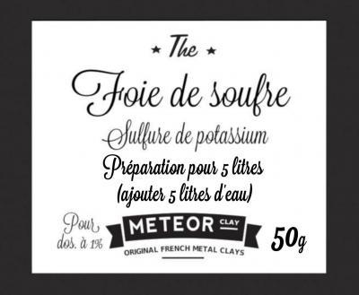 Patine Foie de soufre - 50g