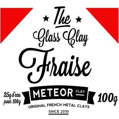 Glass clay Intense - Fraise - 100g