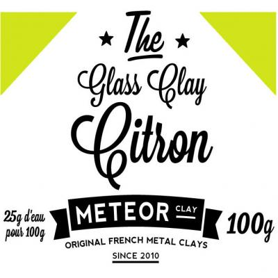 Glass clay Intense - Citron - 100g