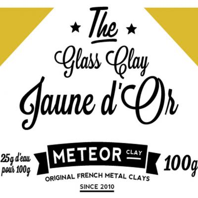 Glass clay Intense - Jaune d'Or - 100g