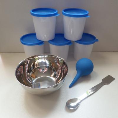 Kit de mélange Métal et Glass Clay