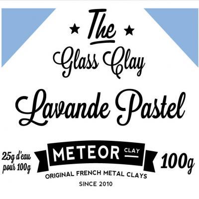 Glass clay Pastel - Lavande - 100g