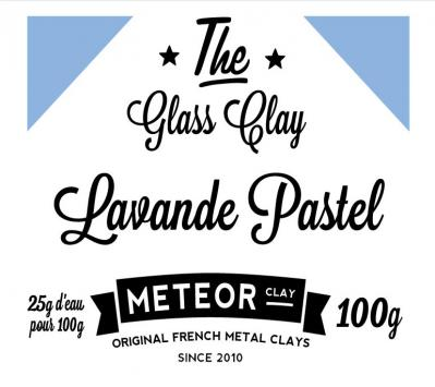 Glass clay Pastel - Lavender - 100g