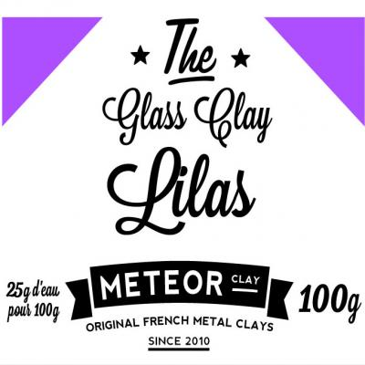 Glass clay Intense - Lilas - 100g