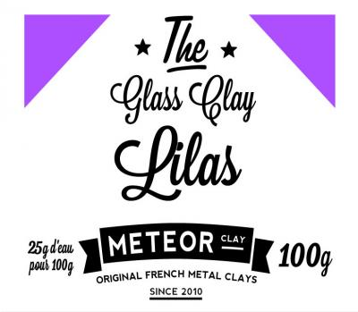 Glass Clay Intense - Lilac - 100g