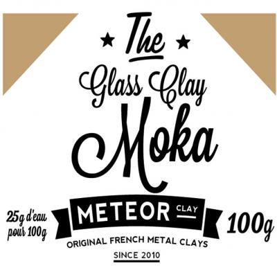 Glass clay Intense - Moka - 100g
