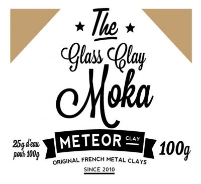 Glass Clay Intense - Moka - 100g