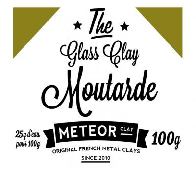 Glass clay Intense - Moutarde - 100g