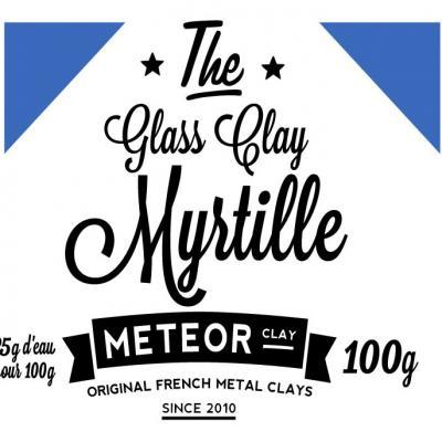 Glass clay Intense - Myrtille - 100g