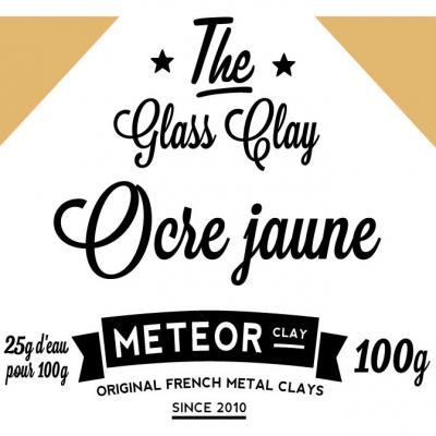 Glass clay Intense - Ocre jaune - 100g