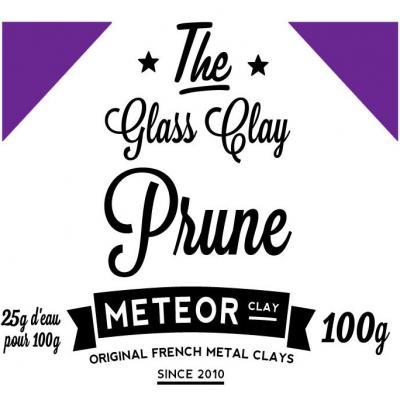Glass clay Intense - Prune - 100g