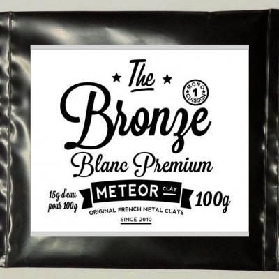 Premium White Bronze : One step firing !