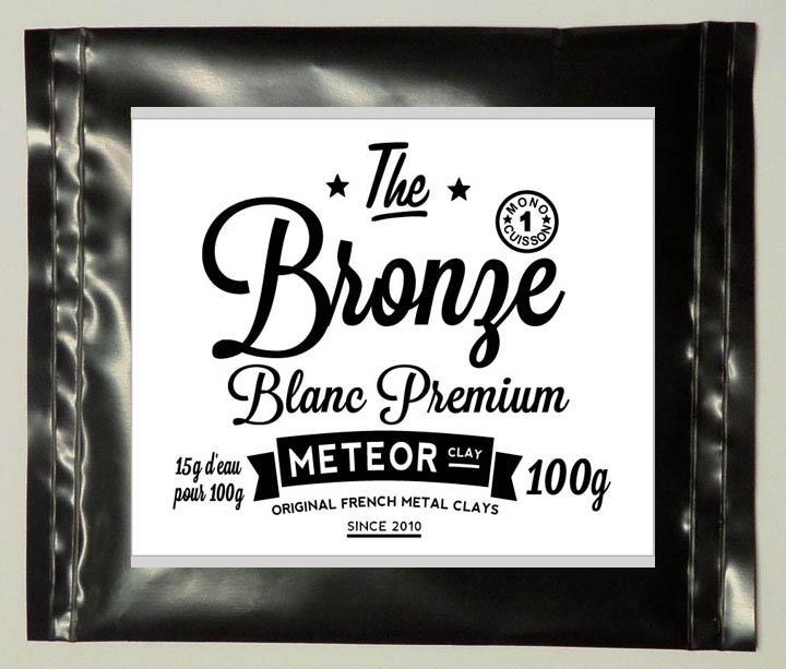 Premium Bronze Blanc : Mono cuisson ! Nouvelle formule
