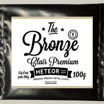 Premium Light Bronze : One step firing !